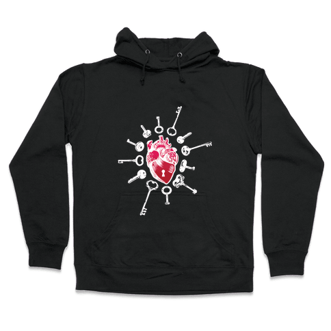Keys To My Heart Hooded Sweatshirt