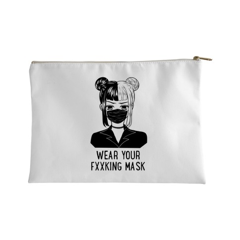 Wear Your Fxxking Mask Accessory Bag
