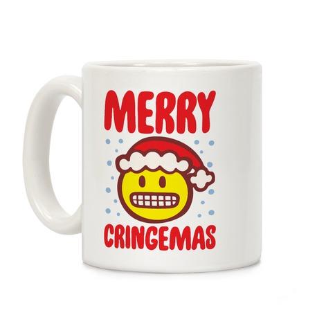 Merry Cringemas Parody Coffee Mug