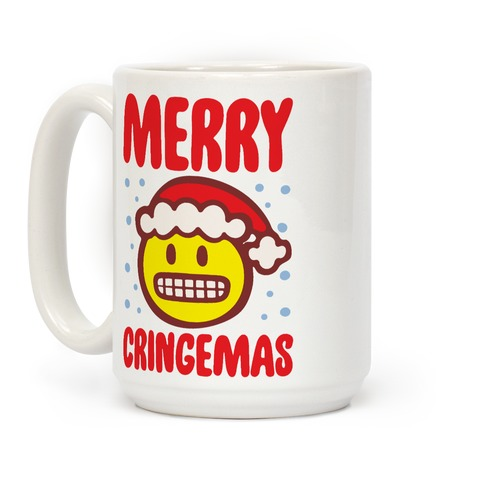 Merry Cringemas Parody Coffee Mug