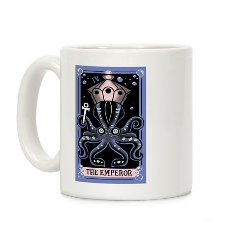 Creepy Cute Tarots: The Emperor Coffee Mug