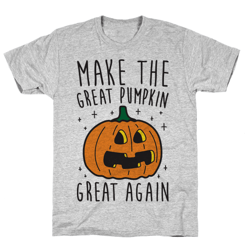 Make The Great Pumpkin Great Again Mens T-Shirt