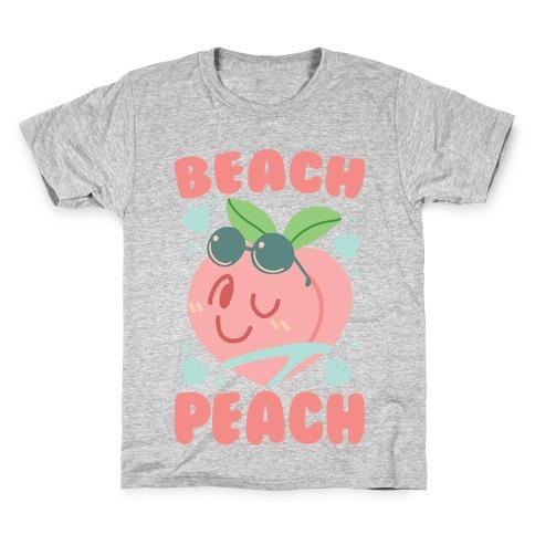 Beach Peach Kids T-Shirt