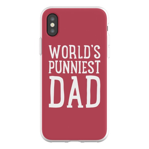 World's Punniest Dad Phone Flexi-Case