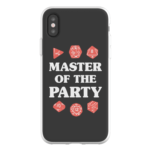 Master of the Party Phone Flexi-Case
