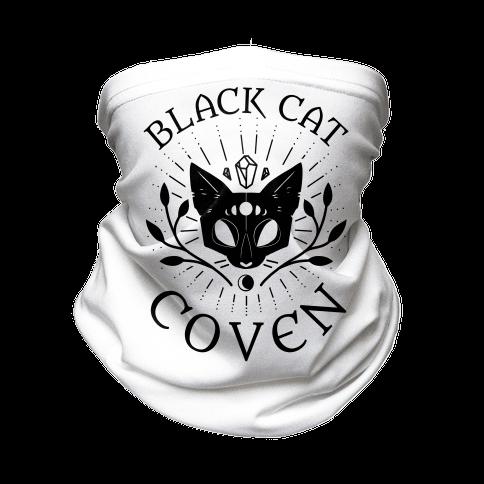 Black Cat Coven Neck Gaiter