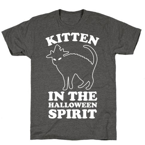 Kitten In The Halloween Spirit T-Shirt
