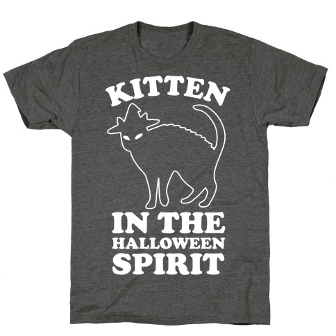 Kitten In The Halloween Spirit T-Shirt