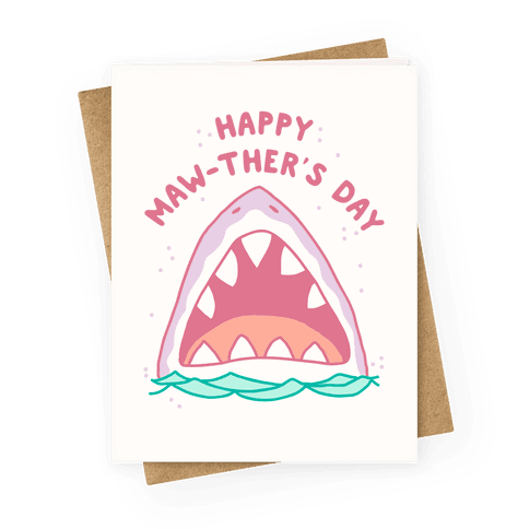 Happy Mawther's Day Greeting Card