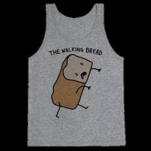The Walking Bread Parody Tank Top