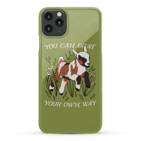 You Can Goat Your Own Way Phone Case