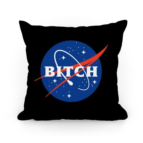 Bitch Space Program Logo Pillow