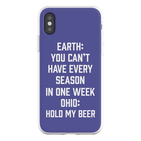 Every Season In One Week Ohio Phone Flexi-Case