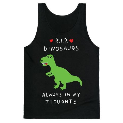 RIP Dinosaurs Tank Top