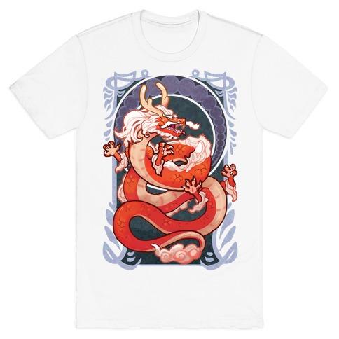 Art Nouveau Dragon T-Shirt