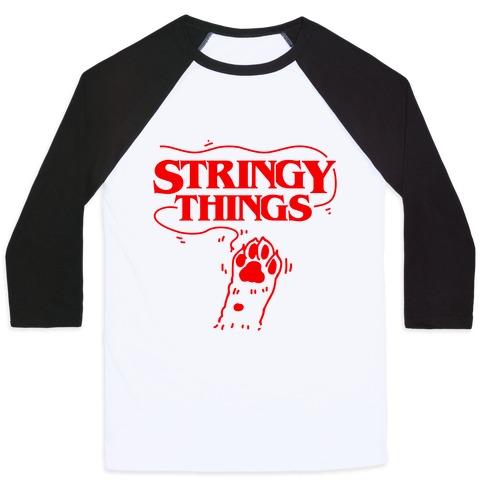 Stringy Things Baseball Tee