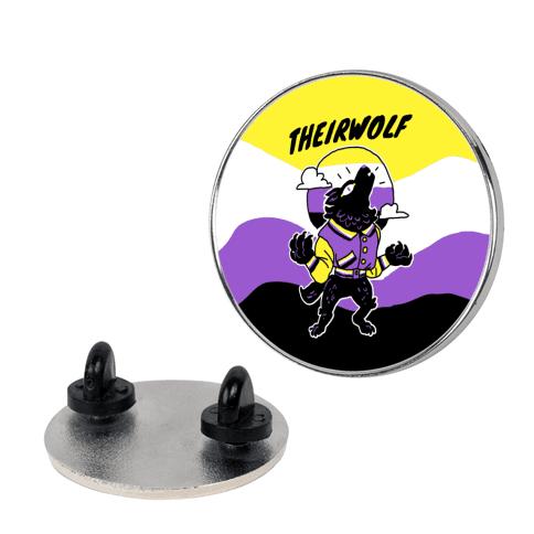 Theirwolf Pin