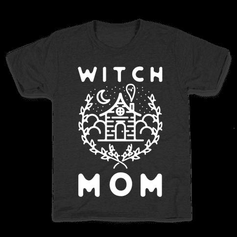 Witch Mom Kids T-Shirt