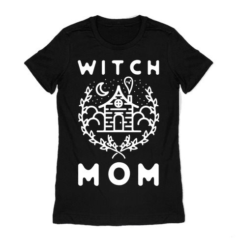 Witch Mom Womens T-Shirt
