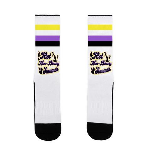 Hot Non-Binary Summer Sock
