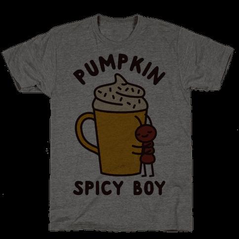 Pumpkin Spicy Boy