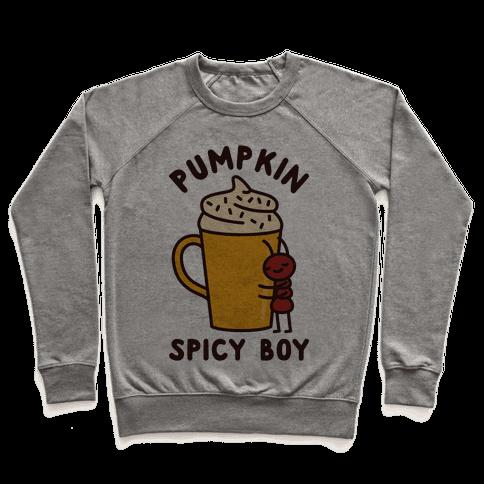 Pumpkin Spicy Boy Pullover