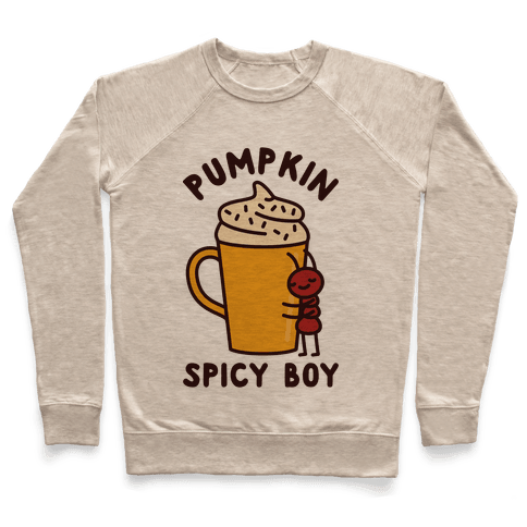 Pumpkin Spicy Boy Pullover