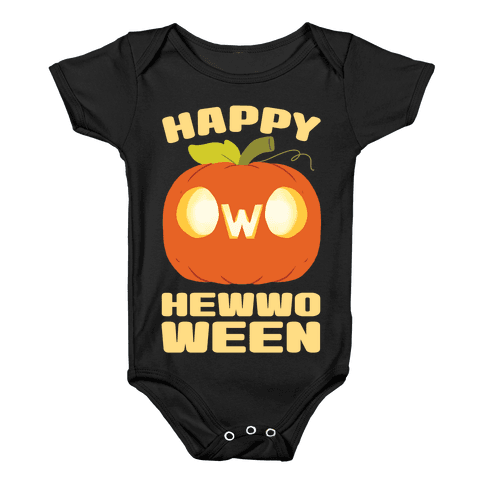 Happy Hewwoween OwO Baby Onesy