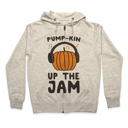 Pump-kin Up the Jam Zip Hoodie