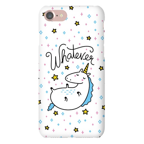 Whatever Unicorn Phone Case