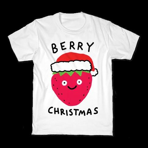 Berry Christmas Kids T-Shirt