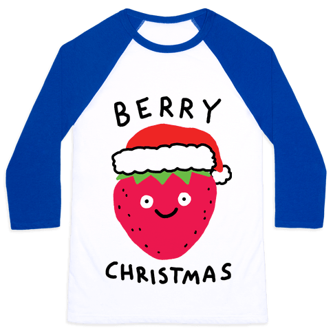 Berry Christmas Baseball Tee