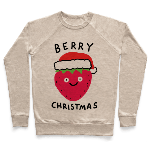 Berry Christmas Pullover
