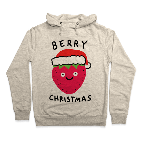 Berry Christmas Hooded Sweatshirt
