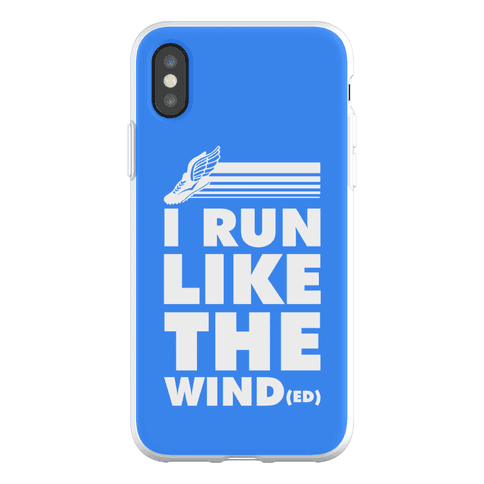 I Run Like the Winded Phone Flexi-Case