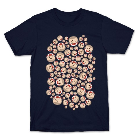 Stuffed Shrooms Pattern T-Shirt