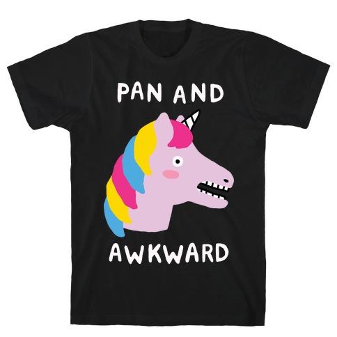 Pan And Awkward Mens T-Shirt