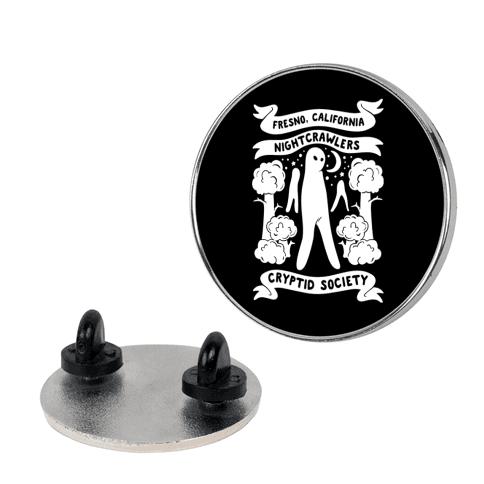 Fresno Nightcrawlers Cryptid Society Pin