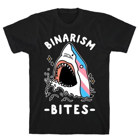 Binarism Bites Transgender T-Shirt