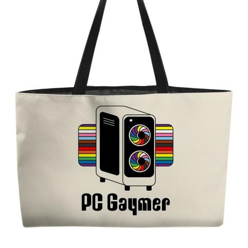 PC Gaymer Weekender Tote