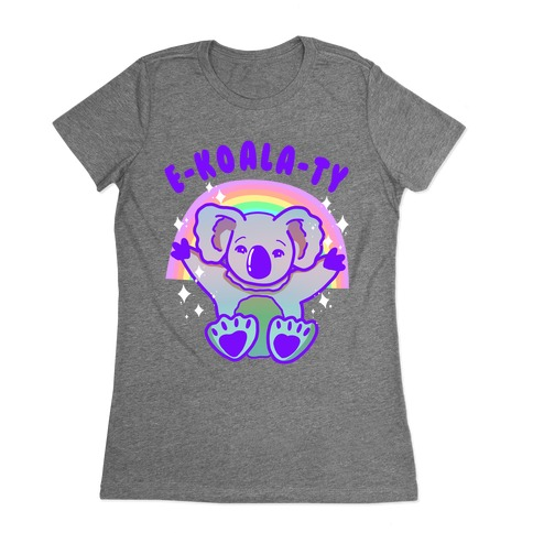E-koala-ty Womens T-Shirt