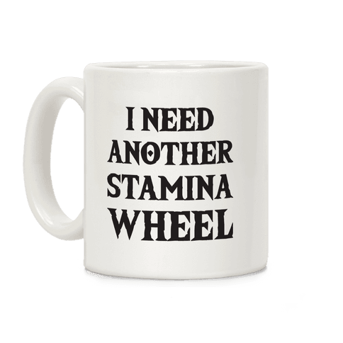 I Need Another Stamina Wheel Zelda Parody Coffee Mug
