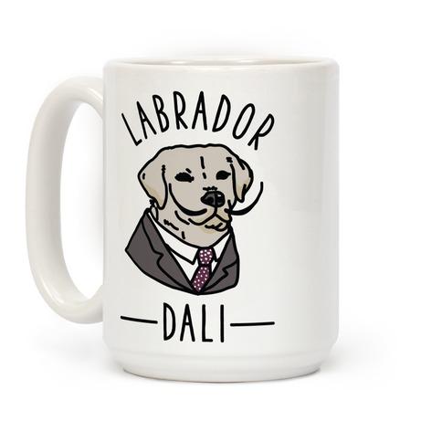 Labrador Dali  Coffee Mug