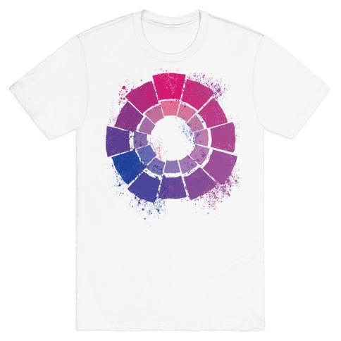 Bi Pride Color Wheel T-Shirt