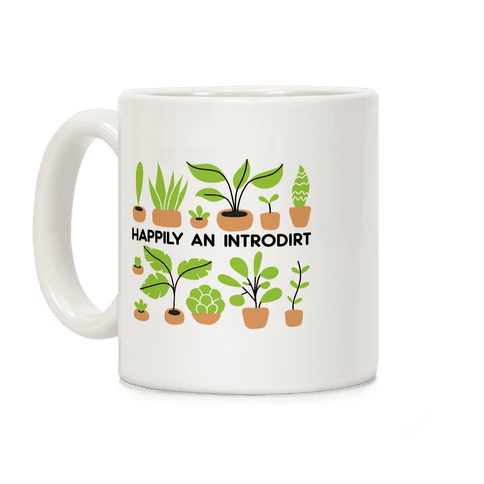 Happily An Introdirt Coffee Mug