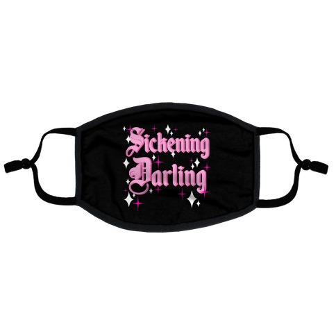 Sickening Darling Flat Face Mask