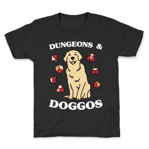 Dungeons & Doggos Kids T-Shirt