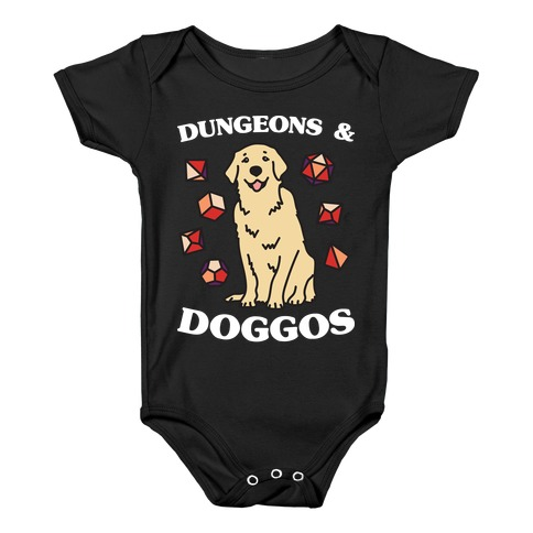 Dungeons & Doggos Baby Onesy