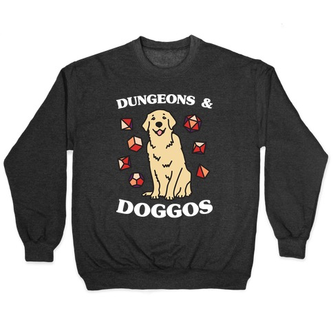 Dungeons & Doggos Pullover