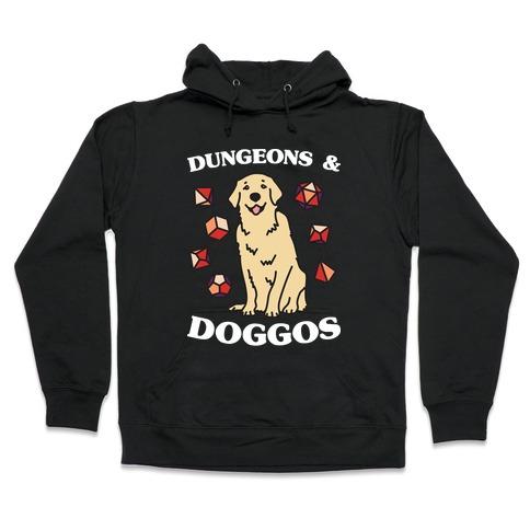 Dungeons & Doggos Hooded Sweatshirt